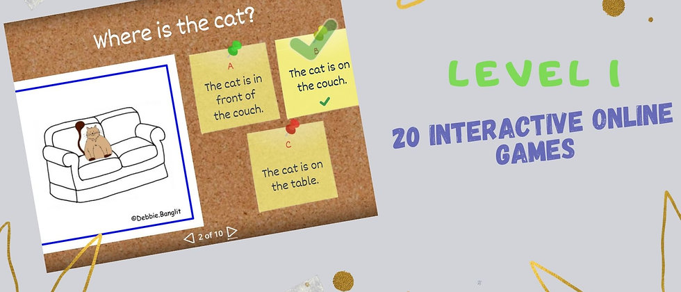 Level 1 - 20 Interactive Online Games