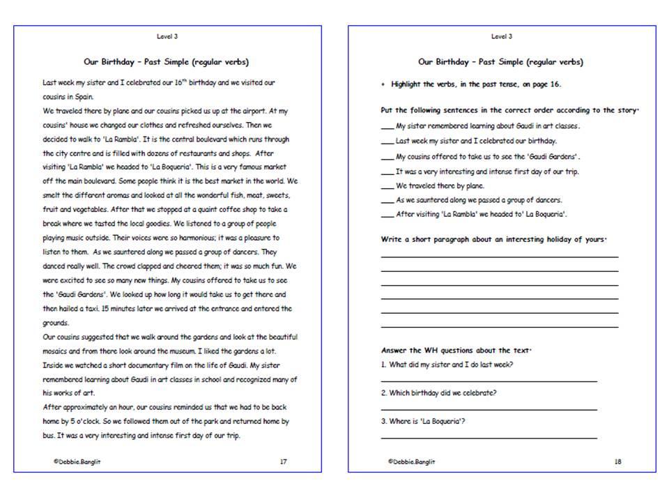 Level 3 DebbieBanglit - Pages 7 & 8