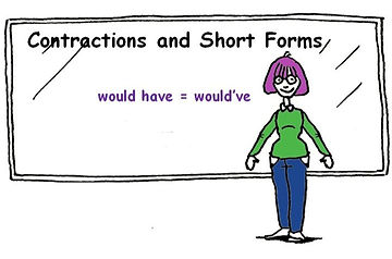 contractions and short forms