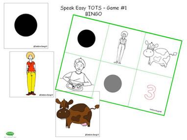 ESL Speak Easy Tots - Game 1