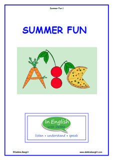 Summer Fun Booklet