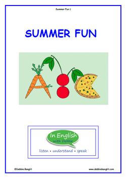 Summer Fun Booklet