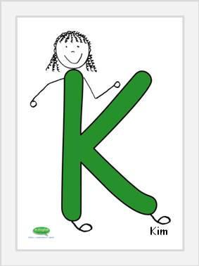 The capital letter - K
