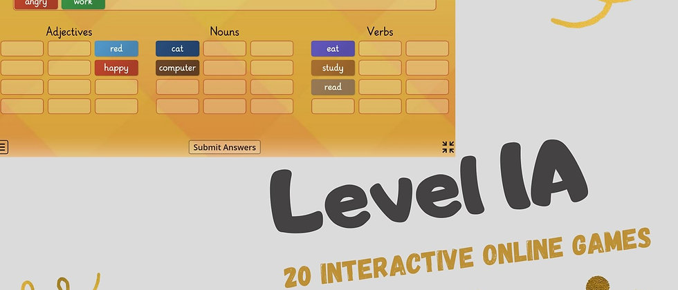 Level 1A - 20 Interactive Online Games