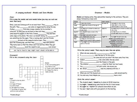 Level 3 DebbieBanglit - Pages 73 & 74