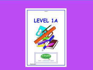 Level 1A - Workbook