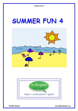 ESL Summer Fun 4 Booklet