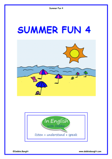 Summer Fun Booklet 4