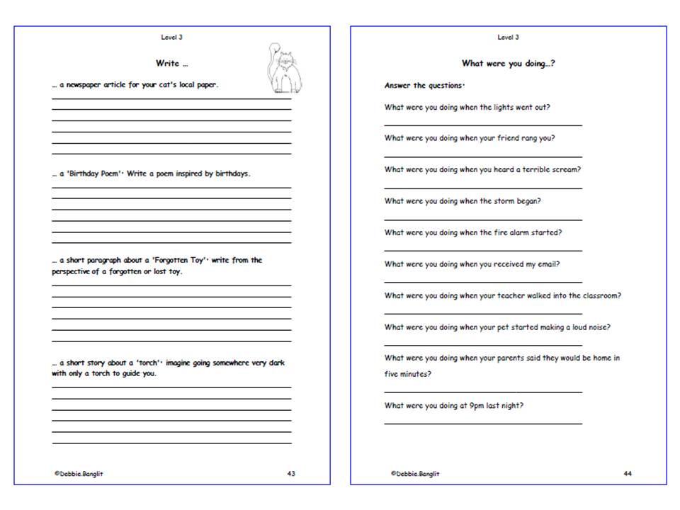 Level 3 DebbieBanglit - Pages 43 & 44