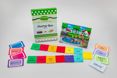 DebbieBAnglit - ESL Picture and Card Game - Chatter Box 2