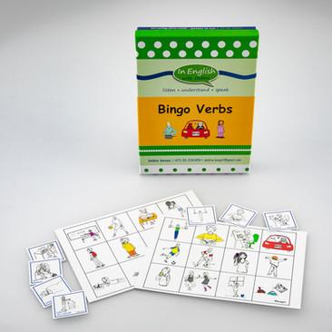 DebbieBAnglit  ESL Verbs Bingo Game