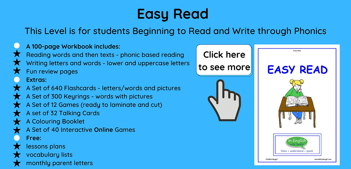 Easy Read - DebbieBanglit