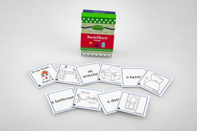 DebbieBAnglit - ESL House Back2Back Card Game