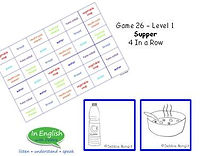 ESL DebbieBanglit Level 1 Supper Board game