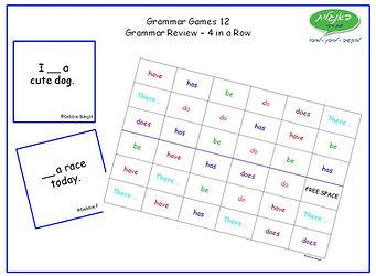 DebbieBanglit ESL Grammar Games 12 - Gra