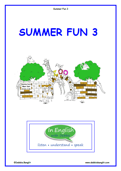 ESL Summer fun 3 Booklet