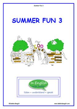 Summer Fun Booklet 3