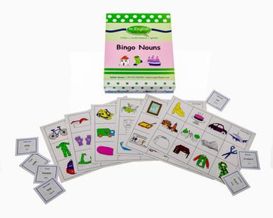DebbieBanglit ESL Bingo Nouns Game