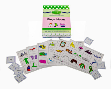 DebbieBanglit - ESL Bingo Nouns Game