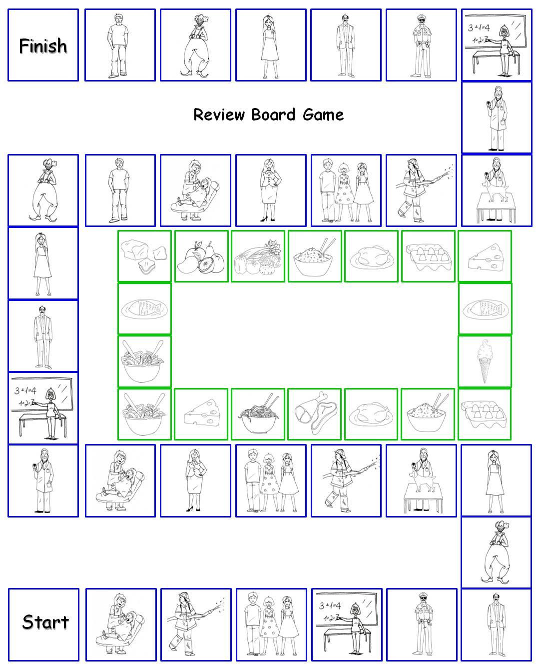 Speak Easy Esl Review Board Game