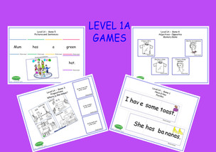 Level 1A - Set of 6 games