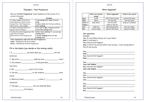 Level 2B Workbook - pages 92 & 93