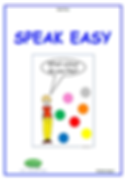 Speak Easy - ESL Workbook for Kindergarten children.
