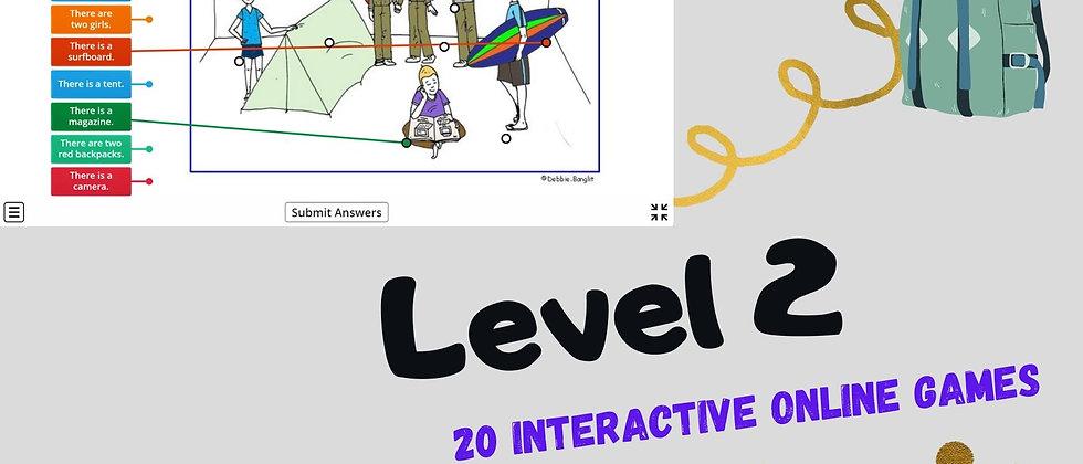 Level 2 - 20 Interactive Online Games