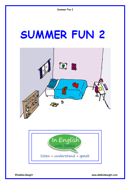 ESL Summer Fun 2 Booklet