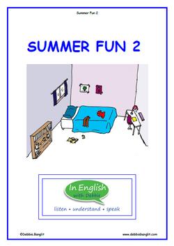 ESL Summer Fun 2 Booklet