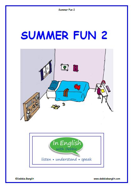Summer Fun Booklet 2
