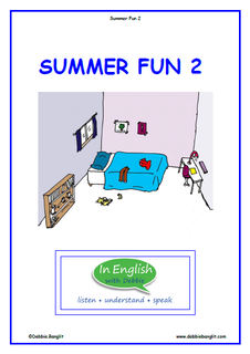Summer Fun Booklet 2