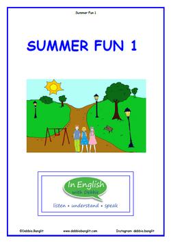ESL Summer Fun 1 Booklet