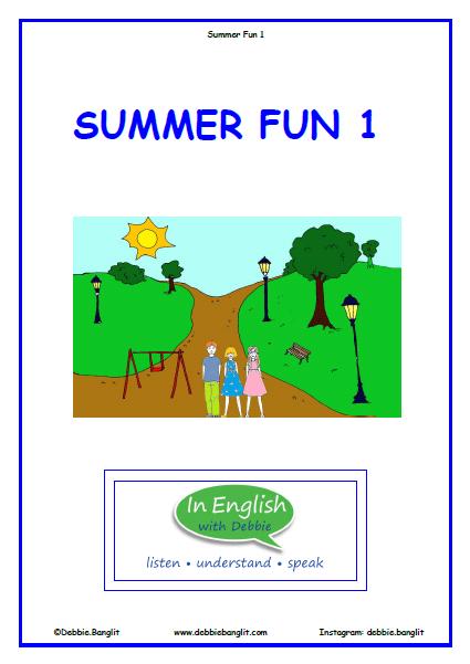 Summer Fun Booklet 1