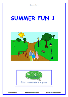 Summer Fun Booklet 1