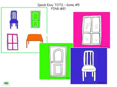Speak Easy Tots - Game 5