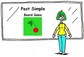 DebbieBanglit Past Simple Board Game