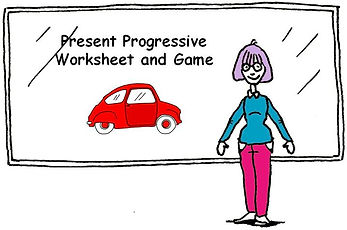 103 - Present Progressive worksheet and
