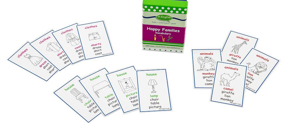 Happy Families - Vocabulary