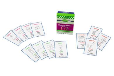 DebbieBAnglit - ESL Vocabulary Happy Families Card Game