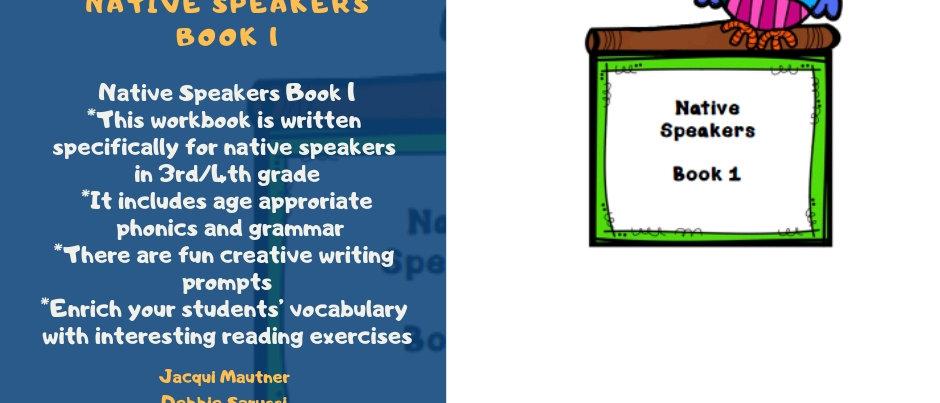 Native Speakers Level 1 Workbook