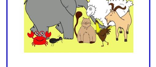 Animal Alphabet Booklet