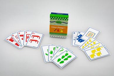 DebbieBAnglit - ESL Colour Change 1 Card Game