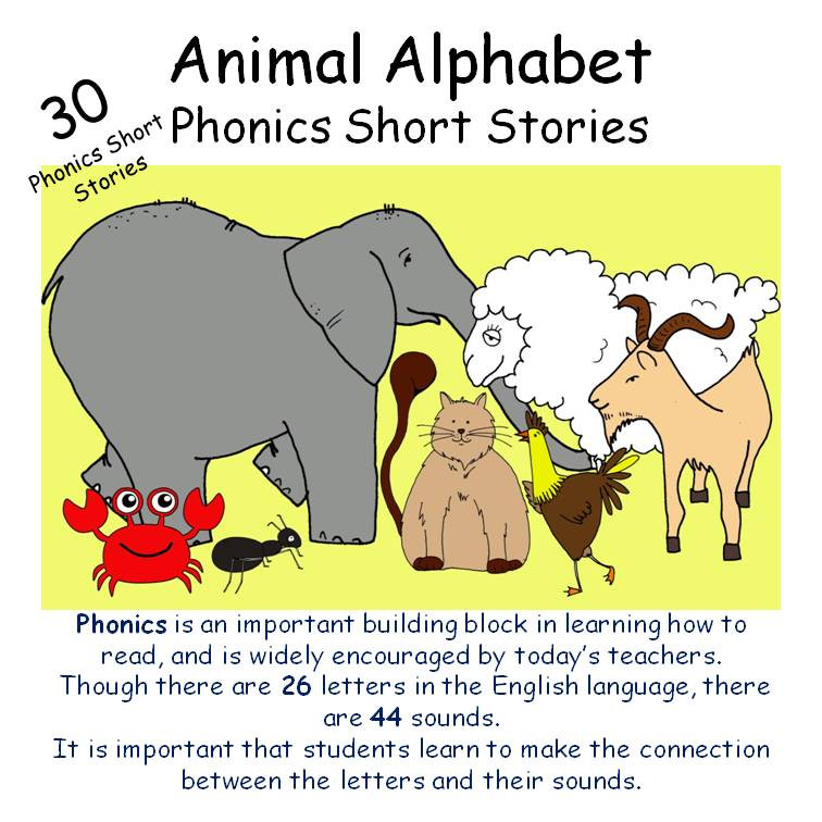 Animal Alphabet Phonics Booklet
