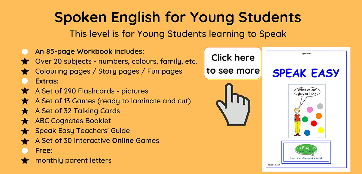 Speak Easy for Young Students