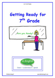 Getting Ready for 7th Grade Booklet