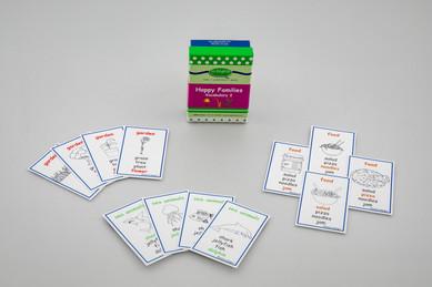 DebbieBAnglit - ESL Vocabulary Happy Families 2 Card Game