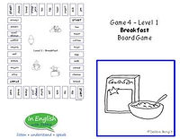 ESL Breakfast Board Game