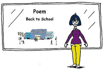 English language Poem - Back to School