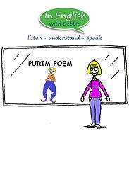 Purim Poem for English language